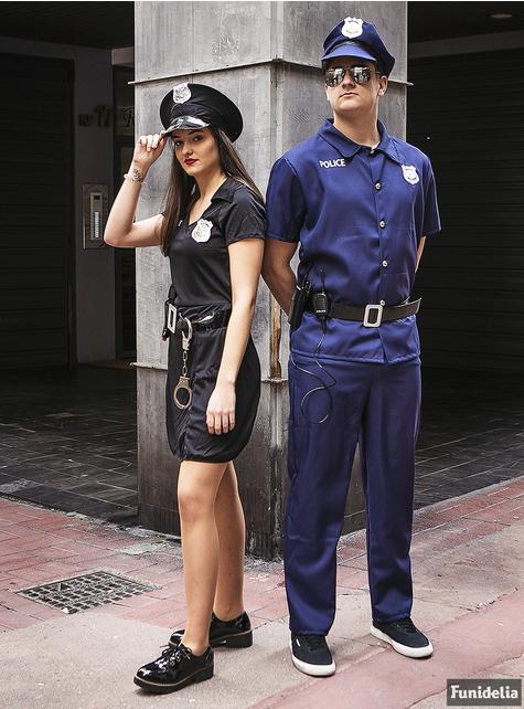 Fato de polícia para mulher