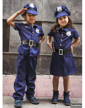 pakaian kanak-kanak lelaki Polis