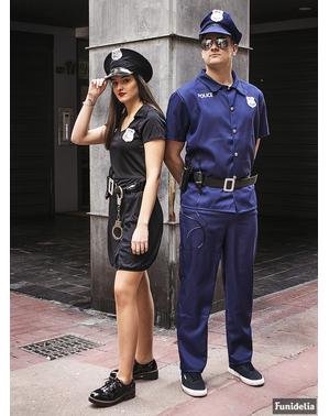 Fato de polícia para homem