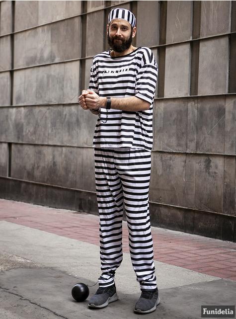 Disfraz de prisionero