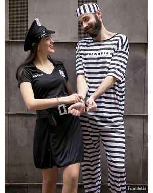 zapornik kostum
