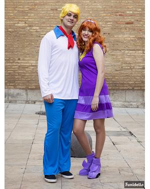 Fred Maskeraddräkt - Scooby Doo
