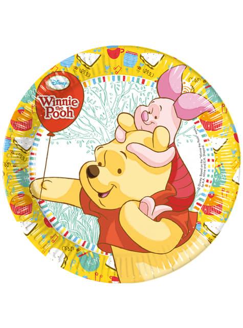 Set de 8 platos Winnie Sweet Tweets 20 cm