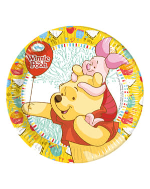 8 platos Winnie Sweet Tweets 20 cm