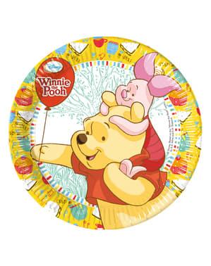 8 Winnie Sweet Treats 20cm Plates
