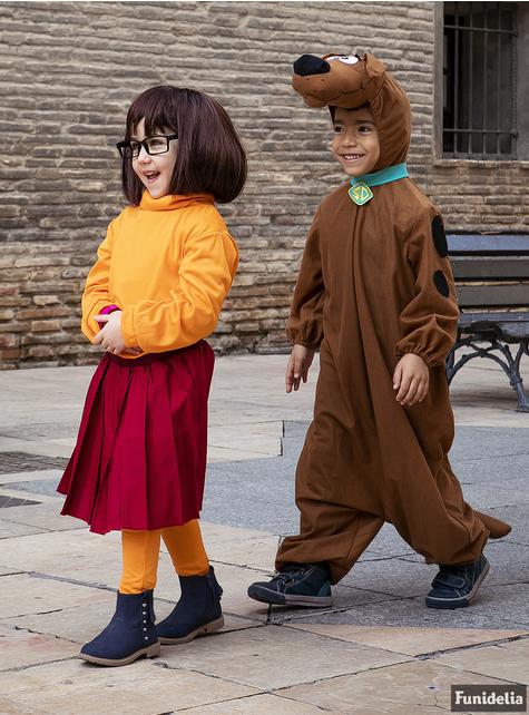 Velma costume for girls - Scooby Doo