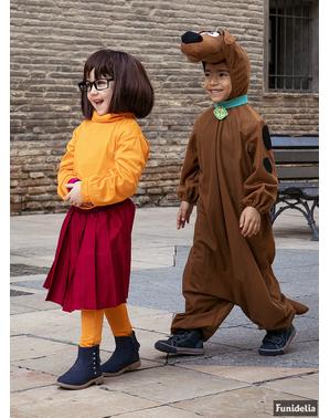 Velma kostyme til jenter - Scooby Doo