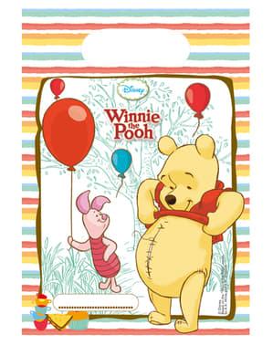 6 sacos Winnie Sweet Tweets