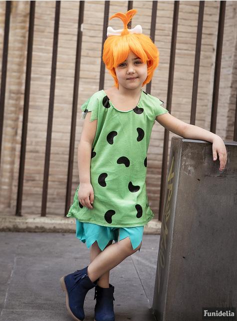 Pebbles kostyme til jenter - Flintstones