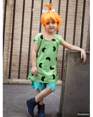 Kostým Pebbles pre dievčatá - Flinstonovci