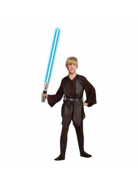 Fato de Anakin Skywalker Deluxe para menino