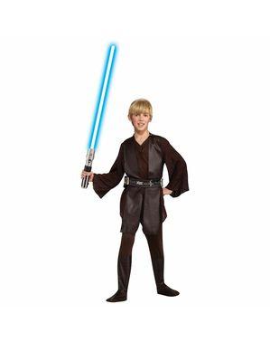 Costume Anakin Skywalker deluxe da bambino