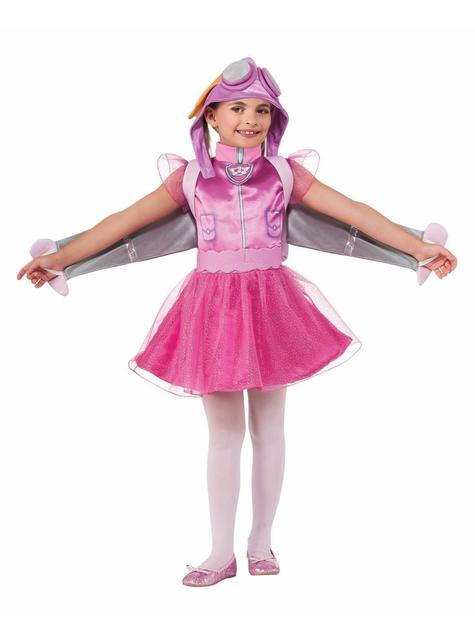 Girls Skye Paw Patrol Costume