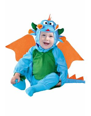 Babies Little Blue Dragon Costume
