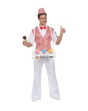男性用アイスクリームマンコスチューム