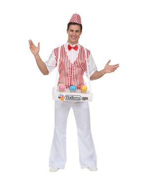 Costum de vânzător de înghețată pentru bărbat