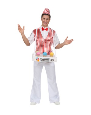 Ice cream man costume for men
