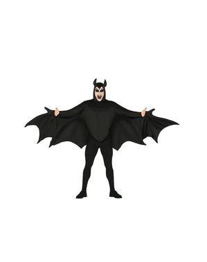 Fato de morcego maldito para adulto