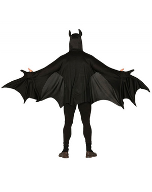 Evil bat costume for adults