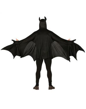 Ond flaggermus kostyme til voksne