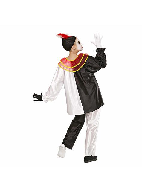 大人のためのパントマイムの芸術家の道化師の衣装