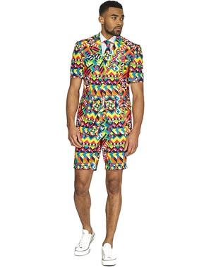 「夏の抽象」スーツ - Opposuits(夏版)