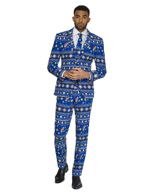 Christmas Super Mario Bros Suit - Opposuits