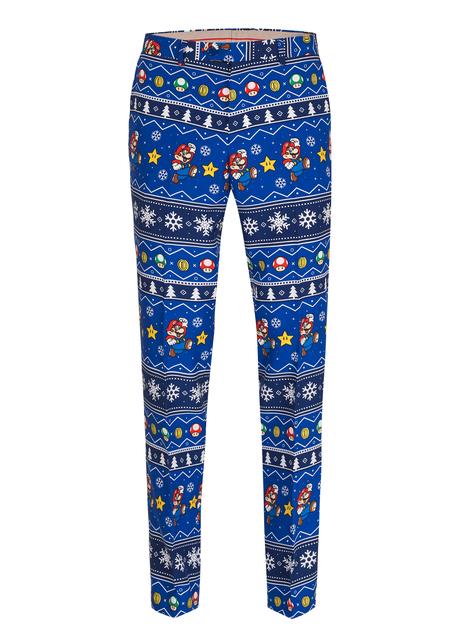 Super Mario Bros Kerst Opposuit