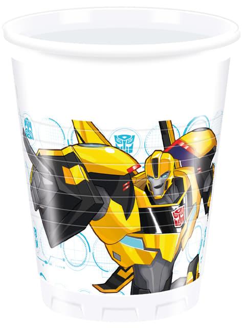 8 vasos Transformers Power Up