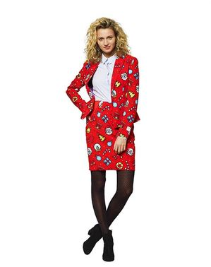 Dashing Decorator Opposuits -puku naisille