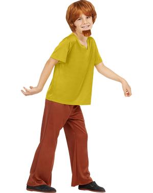 Shaggy kostyme til gutter - Scooby Doo