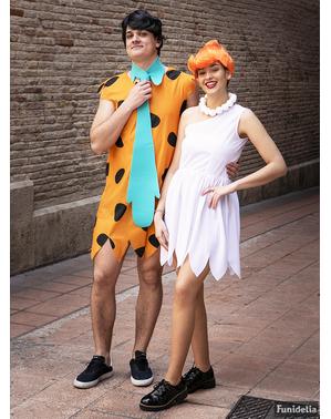 Strój Fred Flintstone plus size - Flintstonowie