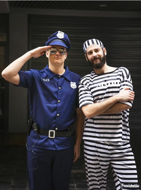 Fato de prisioneiro tamanho grande