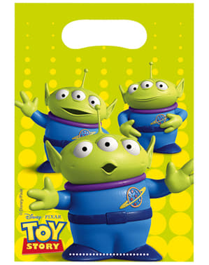 Set of 6 Toy Story Star Power Bags