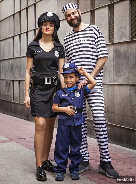 Strój policjantki duży rozmiar