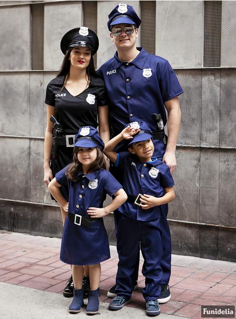 Disfraz de policía para mujer talla grande