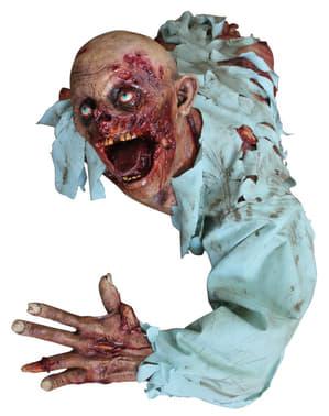 Декорація для Хелловіну із зомбі, що повзе