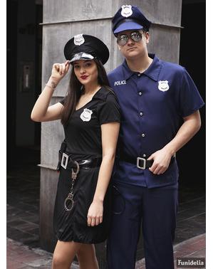 警方服装加上大小