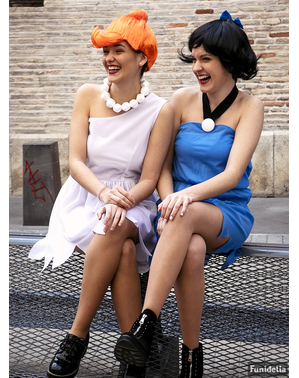 Grote maat Betty Rubble kostuum - The Flintstones