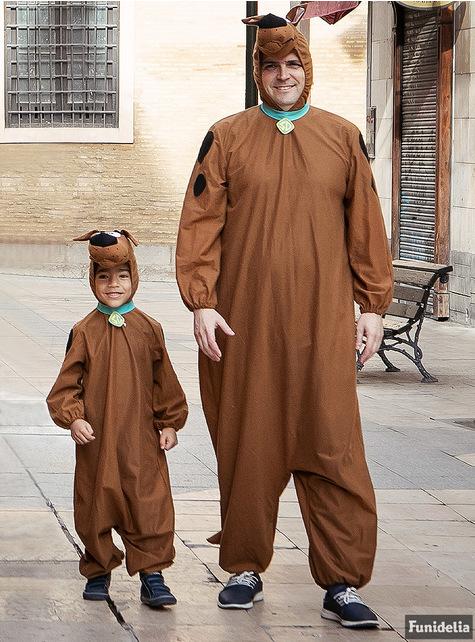 Grote maat Scooby Doo kostuum voor volwassenen
