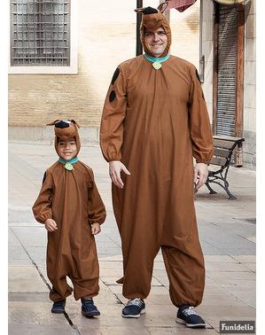 Costum Sooby Doo pentru adult mărime mare