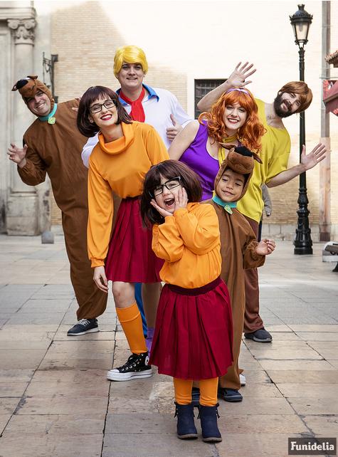 Disfraz de Scooby Doo para adulto talla grande