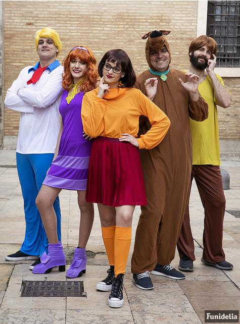 Strój Scooby Doo dla dorosłych duży rozmiar