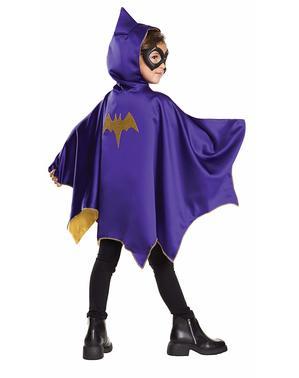 Kit costume Batgirl DC Super Hero Girls per bambina