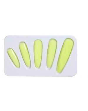 Hexen-Fingernägel phosphoreszierend