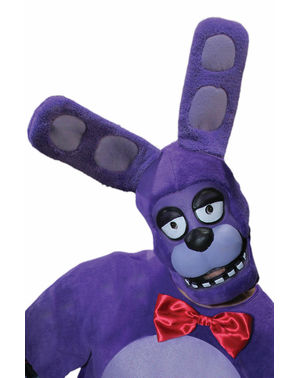 Masque bonnie Five Nights at Freddy's adulte