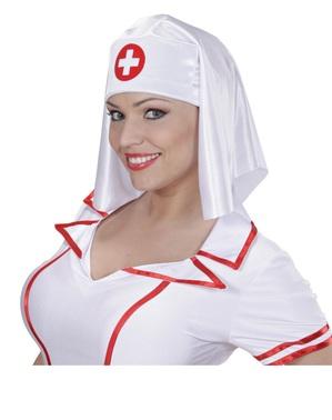 Sjuksköterskehätta dam