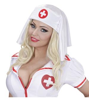 Czepek pielęgniarki dla kobiet