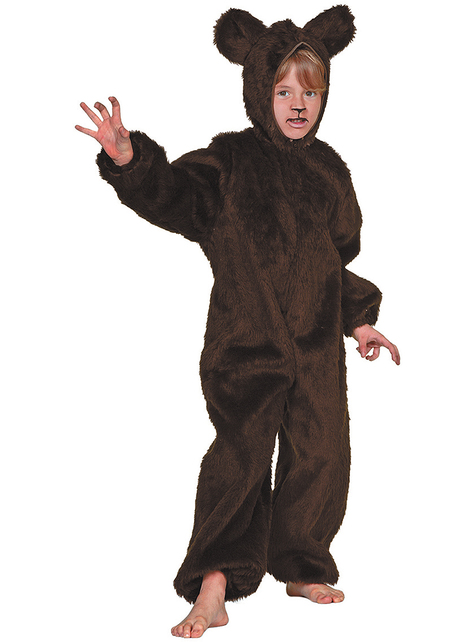 Disfraz de oso peludo infantil