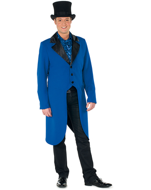 Blue tamer tailcoat for men
